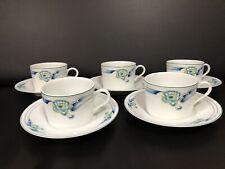 5 Tasses à Thé Ceralene porcelaine de Limoges À. Raynaud