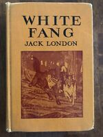 Vintage Children's White Fang By Jack London The Macmillan Company 1962- ExLib