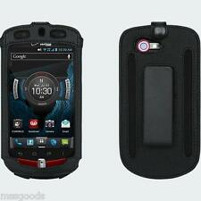 OEM Verizon Casio G'zOne Commando 4G LTE C811 Fitted Leather Case NIB
