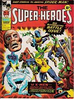 The Super-Heroes issue 39 Marvel UK dated 29 Nov 1975