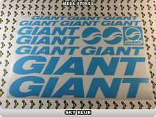 GIANT Stickers Decals Bicycles Bikes Cycles Frames Forks Mountain MTB BMX 59BJ