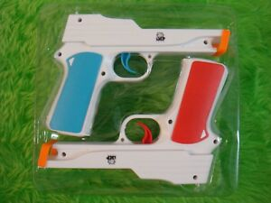 wii LIGHT GUNS X2 Zapper Pistols NEW Gun Shooter NO GAME