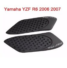 Tank Pad Protector Sticker Decal Gas Knee Grip Traction Side 3M Yamaha YZF R6