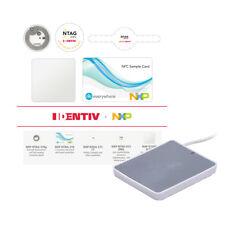 NFC Tag Starter Kit - 25x NFC Forum Typ 2/4/5 NTAG/ICODE plus Leser uTrust3700F