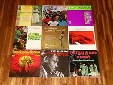 Gospel - Spirituals - SAMMLUNG - 9 LPs - Mahalia Jackson - Stars Of Faith u.a.