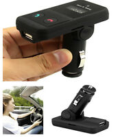 Bluetooth Hands-Free Car Kit FM Transmitter USB SD Card MP3 Player with Remote C