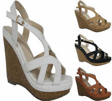 Wedge Strappy Beach Shoes for Women