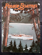 June 1933 Power Boating Magazine w/Dickey Cover