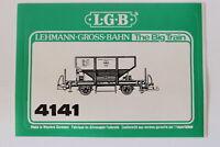 LGB 4141OEG Schotterwagen