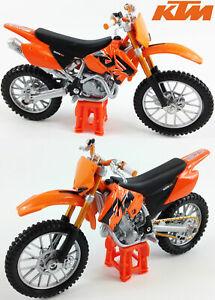 MAISTO 1:18 KTM SX 525 Toy Model Motocross Motorbike Dirt Bike Scrambler