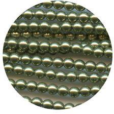 "5810 3 LGR **"" 40 ""CRYSTAL PEARLS"" de Swarovski rondes 3mm LIGHT GREEN"