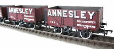 37-081X Pack Of 3 7 Plank Private Owner Wagons 'Annesley' TMC Limited Edition