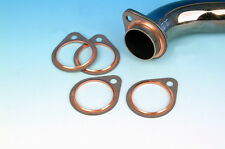 "GENUINE JAMES EXHAUST GASKETS WITH FIRE RING ""ONE PAIR"" NEW ITEM!!!!!"