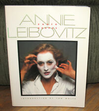 SIGNED Handprint Annie Leibovitz Photographs First Book PB John Lennon Yoko Ono