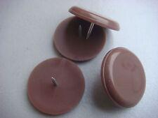 16 Patins Glisseurs à clouer en Nylon, Anti-Bruit, Ø 22 mm,patin glisseur