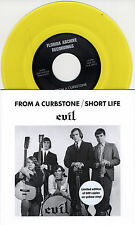 """EVIL From A Curbstone yellow vinyl 7"""" NEW Montells garage punk 600-copies"""