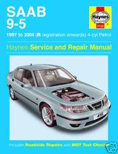 NEW Haynes Saab 9-5 4-cyl Petrol (97 - 04) R-54 reg