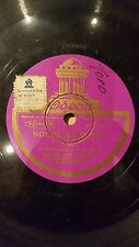 TANGO 78 rpm RECORD Odeon CARLOS GARDEL Noche de Reyes / Viejo Curda SPANISH