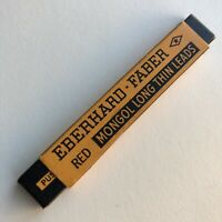 Vintage Eberhard Faber Mongol Red Mechanical Pencil Lead NOS Sleeve of 4 USA
