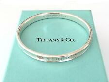TIFFANY & CO Sterling Silver 1837 Bangle Bracelet