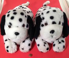 Dalmatian Dog Black & White Ladies / Woman Slippers - Large Size 9 / 10 - NICE