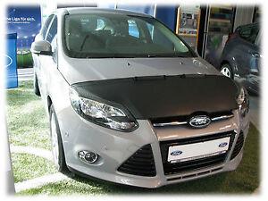 CAR HOOD BONNET BRA fit Ford Focus 3 2011-2014  NOSE FRONT END MASK BRA DE CAPOT