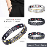 New Men Women Therapeutic Energy Healing Magnetic Bracelet Therapy Arthritis