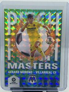 2020-21 LaLiga Mosiac Soccer Gerard Moreno Pitch Masters White Prizm 21/25!