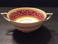 Vintage China Corinthian 2 Handled Cream Soup Bowl  Made in England