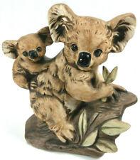 "Vintage Koala Bear Porcelain Matte Figurine Uctci Japan Mid Century 5"" x 5"""