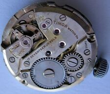 vintage FHF 175 17 jewels complete Timor watch movement for parts