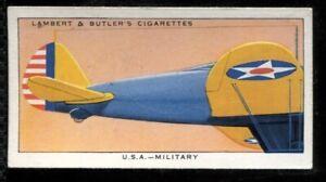 Lambert Butler, AEROPLANE MARKINGS, 1937, USA Army Air Corps, #47