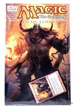 Magic the Gathering MTG Path of Vengeance #3 & Ogre Card IDW Comics Comic VF/NM