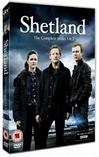 SHETLAND Complete BBC TV Series DVD Collection Season 1+2 + Extras New Original