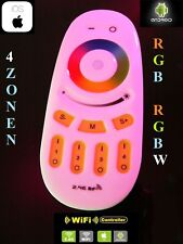 4 Zonen LED RGB RGBW RGB+W Funk Fernbedienung Dimmer 2,4GHz Wifi WLAN Mi-Light