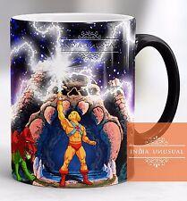 HE MAN MASTER UNIVERSE GRAY SKULL MAGIC COLOR CHANGING COFFEE MUG CUP CHRISTMAS