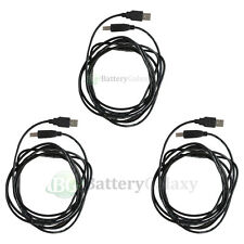 3 For HP CANON DELL BROTHER EPSON PRINTER CABLE CORD USB 2.0 A-B 10FT NEW HOT!