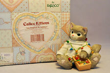 Calico Kittens: You Brighten My Holidays - 178365 - Wrapped in String of Lights