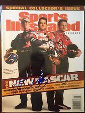 Tony Stewart Kurt Busch Dale Earnhardt Jr Signed Sports Illustrated 2003 NASCAR
