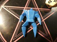 KINNIKUMAN MUSCLE MEN KINKESHI BLUE PVC JAPANESE FIGURE/FIGURINE JAPAN ** #018