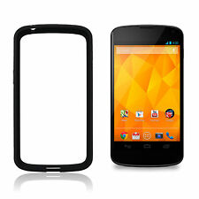 Google Nexus 4 Pare-chocs Coque, Noir, Authentique Officiel LG CCH-190 4 Noir
