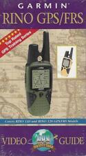 VHS: GARMIN RINO GPS/FRS VIDEO GUIDE.....NEW