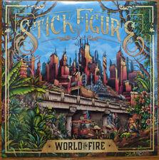 Stick Figure - World On Fire 2 x LP - Vinyl Album SEALED Record Slighty Stoopid