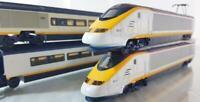 HORNBY JOUEF R543 HO RAILWAYS - EUROSTAR CLASS 373 EMU, 4 CAR TRAIN SET