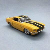Jada 1967 '67 Ford Shelby Mustang GT500 Car Metallic Yellow Die Cast 1/64 Loose