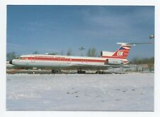 CSA Uscite Aveva Tupolev 154M OK - SCA cn 765