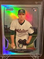 2013 Bowman Chrome Sonny Gray Rookie Refractor Oakland Athletics RC SP Mint Reds