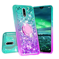 Case for Nokia 2.3 Case Hybrid Liquid Glitter Diamond Phone Cover