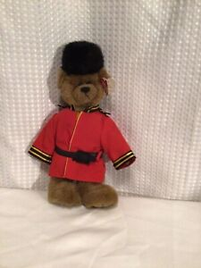 """TY ATTIC TREASURES Teddy Bear """"Malcolm March to A Different Drum"""" Band Teddy NWT"""
