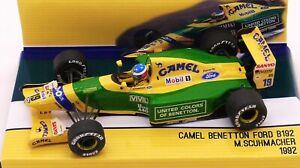TAMEO CAMEL BENETTON B192 M.SCHUMACHER  1ST BELGIAN GP 1992  1/43 F1